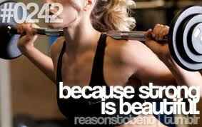 because strong is beutiful